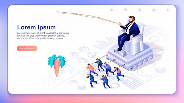 Hidden crowd management. vector illustratie.
