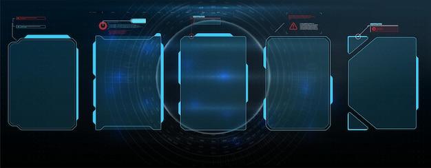 High-tech scherm voor videogames