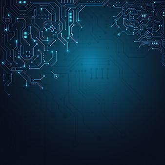 High-tech technologie geometrische achtergrond