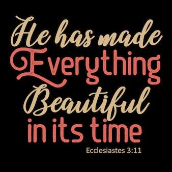 Hij heeft alles moois gemaakt in zijn tijd
