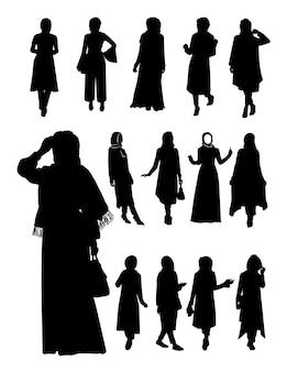 Hijab silhouet