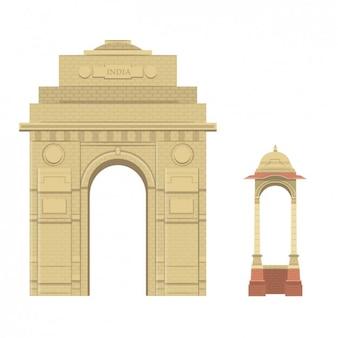 Hindi monumenten
