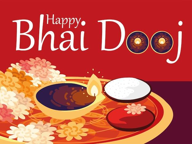 Hindoe happy bhai dooj