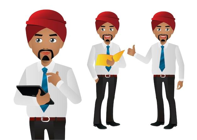 Hindoe zakenman set