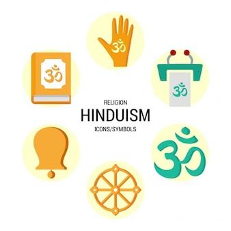 Hindoeïsme pictogrammen