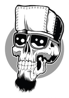 Hip hop schedel