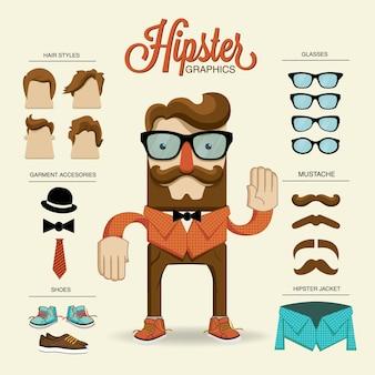 Hipster karakter