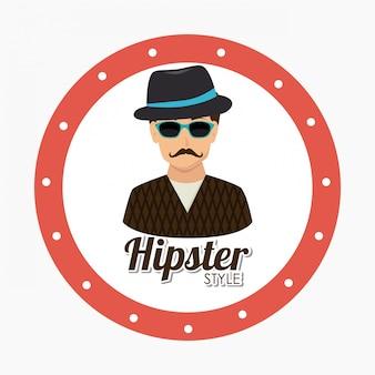 Hipster ontwerp