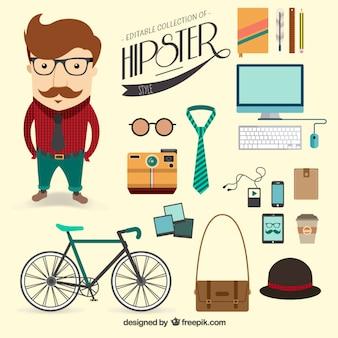 Hipster stijl