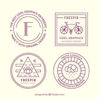 Hispter logos