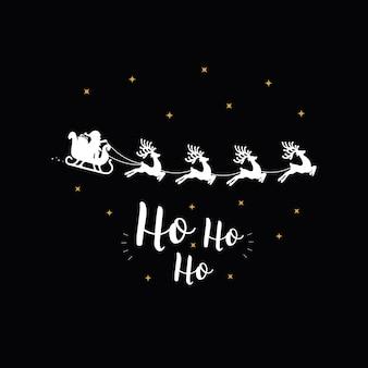 Ho ho ho kerstgroet tekst