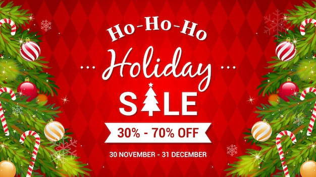 Ho-ho-ho kerstuitverkoop