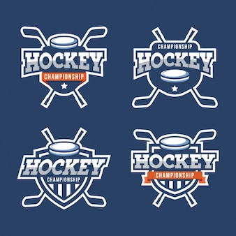 Hockey badges collectie
