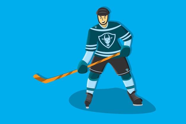 Hockey komische speler