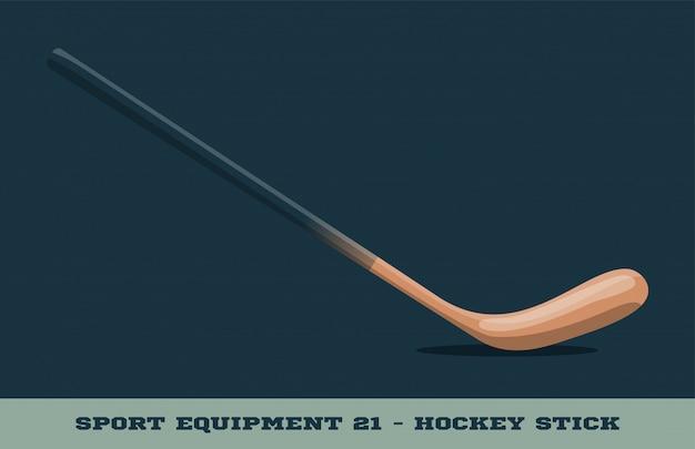 Hockey stick pictogram