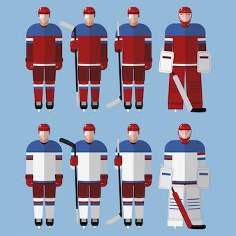 Hockeyspelers