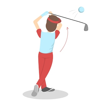Hoe golfgids voor beginners te spelen