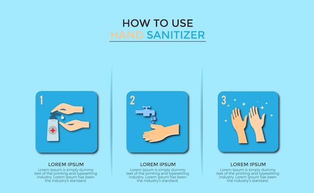 Hoe hand sanitizer te gebruiken
