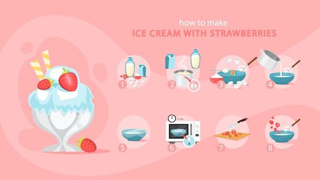 Hoe je thuis ijs kunt maken