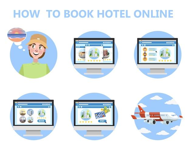 Hoe online hotelinstructie voor beginners te boeken