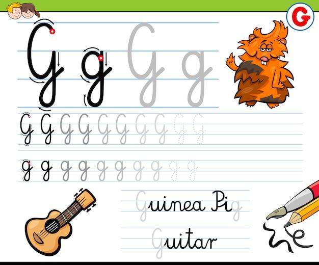 Hoe schrijf je brief g
