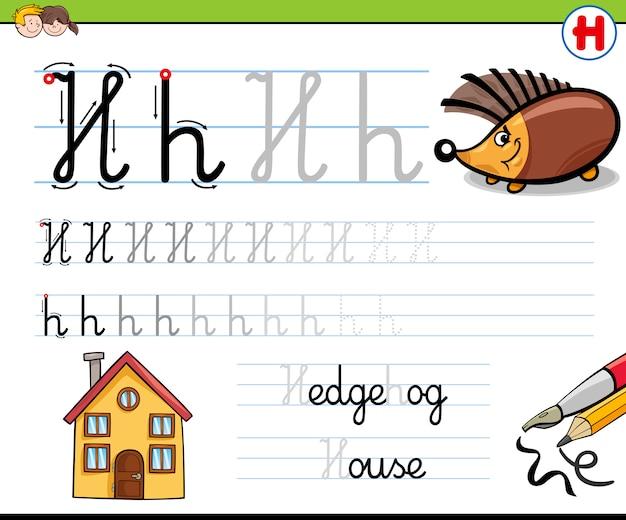 Hoe schrijf je een brief h