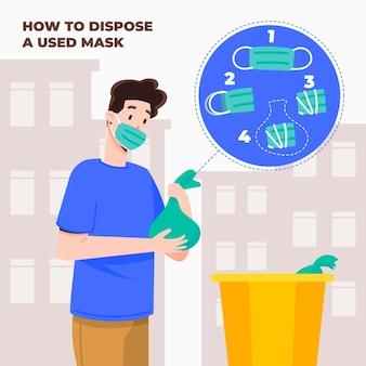 Hoe u het gezichtsmasker op de juiste manier verwijdert