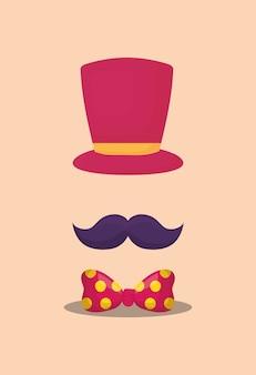Hoge hoed pictogramafbeelding