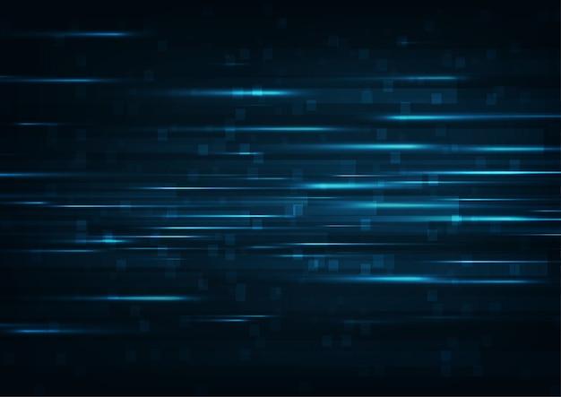 Hoge snelheid internet. hi-tech.