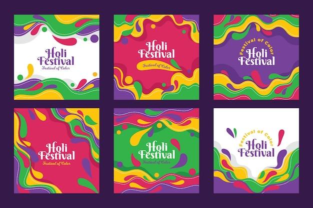 Holi festival instagram-berichten