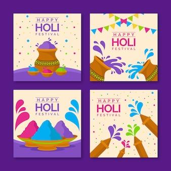 Holi festival instagram postverzameling