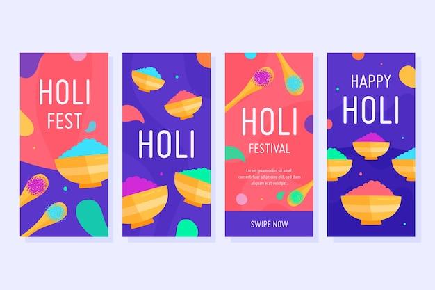 Holi festival instagram verhalencollectie
