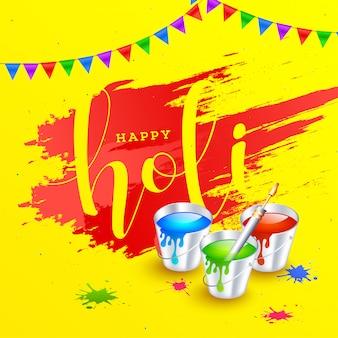 Holi-festivalachtergrond.
