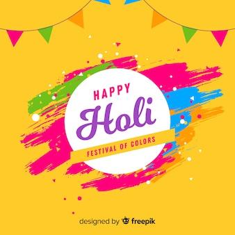 Holi-festivalachtergrond