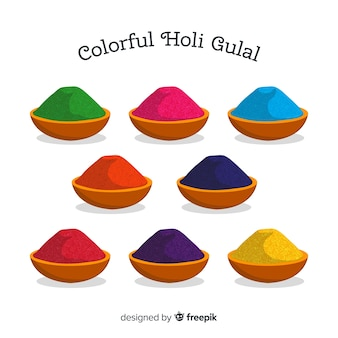 Holi gulal collectie
