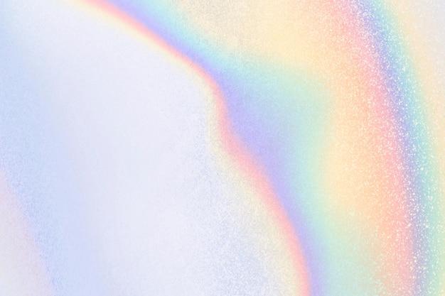 Holografisch esthetisch pastelblauw behang
