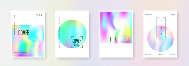 Holografische coverset.