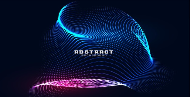 Holografische deeltjes mesh technologie achtergrond