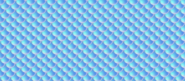 Holografische zeemeermin schalen naadloze patroon.