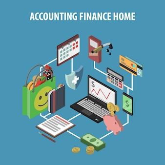 Home bank isometrisch
