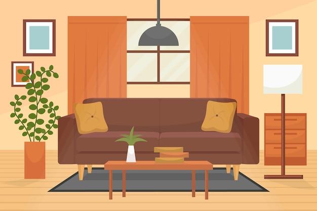 Home interieur achtergrond