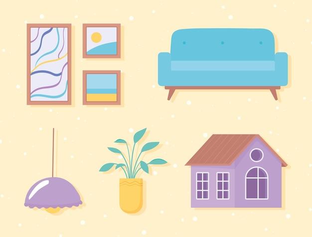 Home-pictogram set