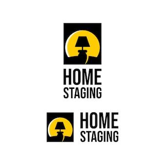 Home staging logo kabinetlamp licht