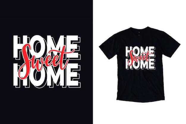 Home sweet home typografie