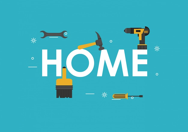 Home tools banner