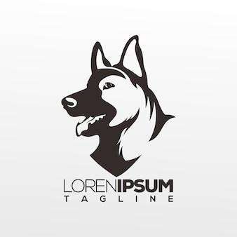 Hond absractk logo