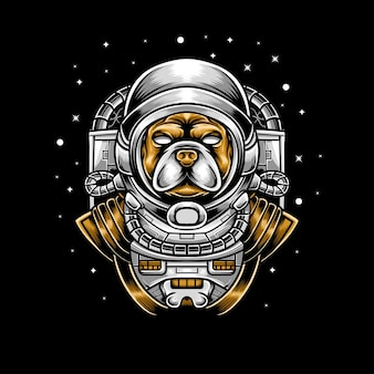 Hond astronout