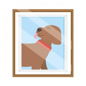Hond cartoon