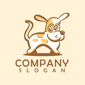Hond logo sjabloon