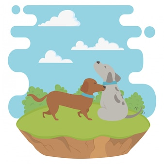 Honden cartoons